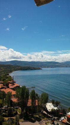 Molyvos, Lesvos, Greece ‼️ Greece, River, Mountains, Sweet, Nature, Outdoor, Greece Country, Candy, Outdoors