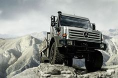 For fans of big, extremely capable trucks, the Unimog is the ultimate forbidden fruit. Look at it -- the truck is massive and designed for hard work and unstoppable off-roading...