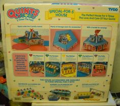 I still have this! #5689 RARE NIB Vintage Tyco Quints Special For 5 House (No Dolls Or Accessories) in | eBay