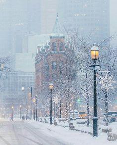 Winter in Toronto, Canada 🇨🇦 Winter Szenen, Winter Love, Winter Magic, Winter Christmas, Winter White, Toronto Winter, Toronto Canada, Canada Ontario, Toronto Snow