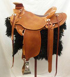 Full Basket wade tree saddle (LOVE)