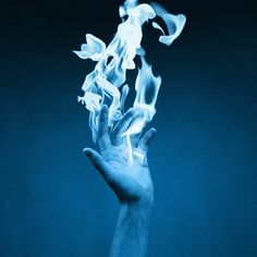 """""""Ghost Fire can, usually, only be extinguished with Holy Water.""""  """"Usually?""""  """"Sometimes all is already lost."""""""