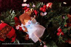 Quecas de Fieltro / Dolls felt Angel mod27 http://accesoriosdulcescaramelos.blogspot.com.es/search/label/Mu%C3%B1ecas%20%28Quecas%20de%20Fieltro%29