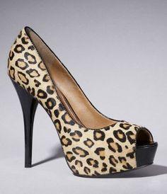 6d8d70fea6a Women from EXPRESS. Leopard Print HeelsLeopard LoafersCheetah PrintPlatform  PumpsShoes ...