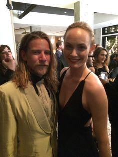 Super Model Amber Valletta & Designer Jeff Garner