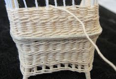 Casey's blog besides being fabulous, has really nice miniature wicker instructions..