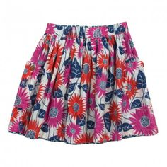 organic cotton skirt daisy