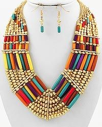 love this with a white dress for summer