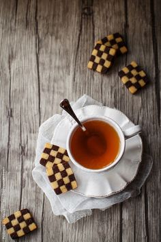 Checkerboard cookies  by Federica Di Marcello