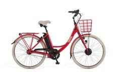 Ecoride Ambassador 28″ 8v 50cm (520Wh) Punainen | Larunpyörä | Polkupyörät - Hybridit, Cyclocrossit, Maastopyörät