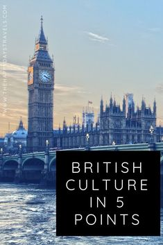 Many people question whether there is such thing as British culture. This article describes 5 things about British culture including drinking tea, having good manners, talking about the weather, sense of humour and drinking. The UK is made up of 4 countries all sharing a unique culture and if you want to know more, click this link and read all about the British Culture. Repin to your Travel or Learning about the world boards! #britishculture #cultureintheuk #whatisbritishculture #uktravel Travel Tips For Europe, Places To Travel, Travel Advice, What Is British, British Things, Travel Around The World, Around The Worlds, Fools And Horses, Travel Information