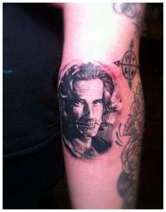 Top 100 Tattoos | BEST TATTOO DESIGNS Sam Elliott, 100 Tattoo, Tom Selleck, Best Tattoo Designs, Tattoo Inspiration, The 100, Skull, Ink, Tattoos