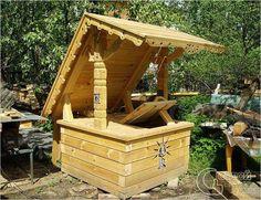 Колодец на даче Wishing Well, Hope Chest, Outdoor Furniture, Outdoor Decor, Garden Bridge, Firewood, Gazebo, Outdoor Structures, Storage