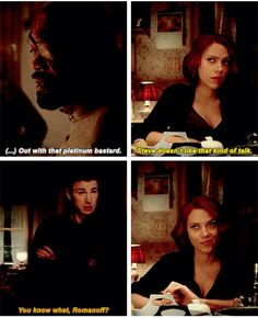 Steve doesn't like that kind of talk.<<< NO ONE ELSE SHIPS THEM DO THEY??? ROMANOGERS!!!!!!