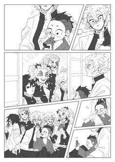 むー (@mu_han029) / Twitter Demon Slayer, Slayer Anime, Demon Hunter, Cute Family, My Hero Academia Manga, Anime Demon, Cool Cartoons, Anime Chibi, Anime Comics