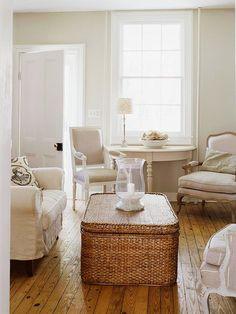 Keep a Small Room White & Light