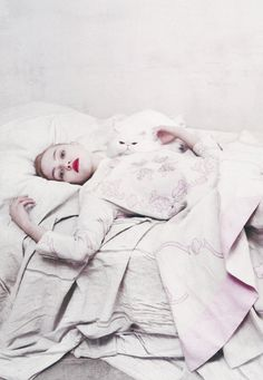 Sasha Pivovarova / Prada Spring Summer 2006 by Steven Meisel