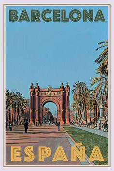 ARCH GATE - BARCELONA