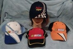 Snap-on Racing Snapback Lot of 4 Hats Nascar Velcro Adjust Embroidered #SnaponCHOKO #BaseballCap