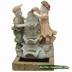Statuary fountain indoor sculpture fountain and indoor water features for sale