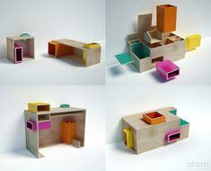 Design - Atom Graphic Architecte(s) : AGNÈS & AGNÈS (http://www.agnesetagnes.com/) – Paris