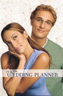 The Wedding Planner is a sweet romantic comedy about a groom (Matthew McConaughey) who discovers he is more interested in his highly organized, but quirky wedding planner (Jennifer Lopez) than his long-time fiancee. Matthew Mcconaughey, Chick Flicks, Chick Flick Movies, Wedding Planner Film, Old Movies, Great Movies, Girly Movies, Awesome Movies, Indie Movies
