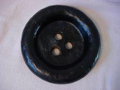 """ButtonArtMuseum.com - Manuel Ferreiro La MUESTRA """"The Sample"""" Bronze Button Sculpture 2007 Mod Art"""