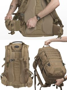 Tasmanian Tiger mission pack – Tasmanian Tiger is the military sister company of the well known German outdoors kit manufacturer Tatonka