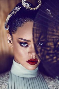 Pinterest @danilove_xo: Rihanna For Harper's Bazaar China