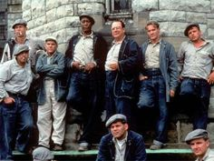 #1. Shawshank Redemption. Great still of the boys, first laying eyes on Andy.