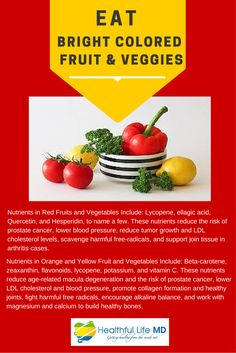 Health Tip Tuesday Did YOU Know Bright Colored Fruits And Veggies Have Benefits