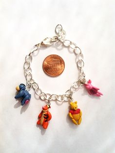 This handmade polymer clay bracelet is now available on my etsy! View my boards to see more Disney Inspired jewelry!