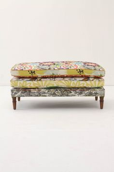 Collage Cushion Bench