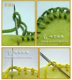 Luty Artes Crochet: Pontos de bordados