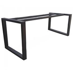Suitable for timber table tops up to 2200 x and legs Modern Steel Table Legs Base Frame Metal Base Dining Table, Cast Iron Table Base, Reclaimed Dining Table, Diy Dining Room Table, Timber Table, Metal Table Frame, Wooden Garden Table, Steel Table Legs, Modern Table Legs