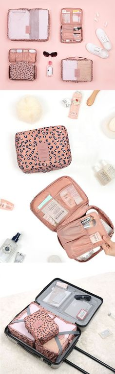 A must-have for my next vacation! The Pattern Ladies Travel Pouch Set will make packing so much simpler! This set comes with 4 adorably patterned pouches that conceal my essential belongings in the cutest way possible! Now I can spend my energy actually planning my trip instead of stressing over packing! I can organize everything from clothing and gadgets to toiletries in this cute and functional set! Join me and explore new places in confidence with your own set! Adventure, here we come!