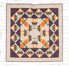 Boundless Blenders Aura Fabric & September Sunrise Pattern Quilt Kit - multi