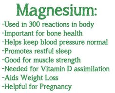 #Magnesium deficiency can lead to #health problems. Take some #mineral…