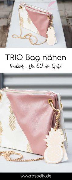 Trio Bag meets KAYA Bag Diy Bag and Purse diy purse bag Diy Handbag, Diy Purse, Diy Upcycled Art, Diy Kleidung Upcycling, Upcycled Furniture Before And After, Dou Dou, Crochet Patron, Sewing Shirts, Diy Bags Purses