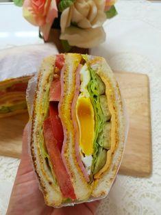 """클럽샌드위치 만들기, 샌드위치 소스만 있으면 간단하게 뚝딱!!샌드위치 레시피@#클럽샌드위치 만들기 """"클... Sandwiches, Tacos, Ethnic Recipes, Brunches, Food, Food Food, Essen, Meals, Paninis"""