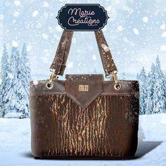 Marie créations sur Instagram: Élégant sac au design soigné comprenant une poche séparatrice zippée et 2 poches plaquées dont une compartimentée à l'intérieur. Fermeture…