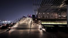 ZENSE: O Renascimento / Department of Architecture Sky Bar Bangkok, Bangkok Thailand, Visual Merchandising, Places In Bangkok, Landscape Stairs, Commercial Architecture, Dark Interiors, Design Furniture, Architecture Photo