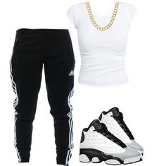 Untitled outfit swag outfits, fashion outfits и jordan Swag Outfits For Girls, Cute Swag Outfits, Teenage Outfits, Teen Fashion Outfits, Dope Outfits, Look Fashion, Trendy Outfits, Summer Outfits, Girl Outfits