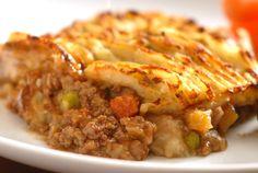 Pastel de carne de soya / Platos principales / HazteVeg.com