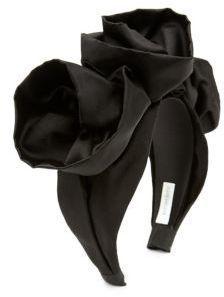 62417d3fa98 Jennifer Behr Rosette Silk Headband Turban Hat
