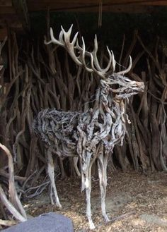 Heather Jansch's driftwood sculptures feature a variety of animals, but the most abundant and notable subjects are horses. Description from pinterest.com. I searched for this on bing.com/images