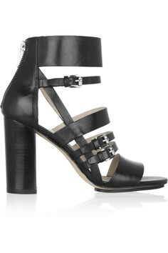 MICHAEL Michael Kors | Winston leather sandals | NET-A-PORTER.COM