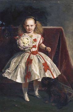 """Princess Beatrice (1857-1944) later Princess Henry of Battenberg"", John Philip…"