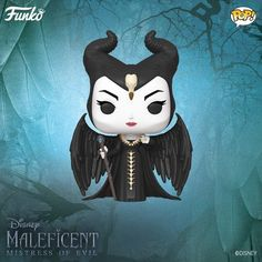 Figure Inspired By The New Film Well, well what a glittering treasure Funko has revealed! Just in time for the new Maleficent sequel comes the new wickedly fabulous Maleficent Funko POP! Disney Pop, Baby Disney, Pop Vinyl Figures, Funko Pop Figures, Maleficent Wings, Disney Maleficent, Michelle Pfeiffer, Elle Fanning, Live Action