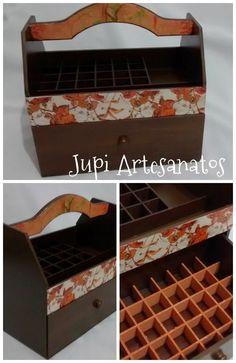 Jupi Artes: Porta Esmaltes